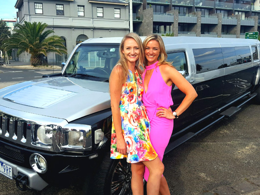 Hens and Hummers perfect match