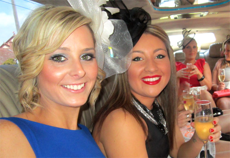 Going to the Spring Racing carnival in a stretch limousine?  Nothing better